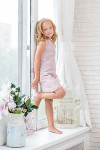 Sleeveless Party Frock